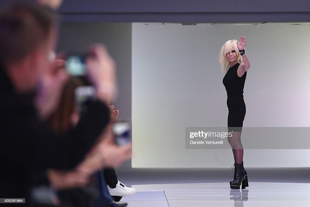 Versace - Runway - Milan Men's Fashion Week  FW16