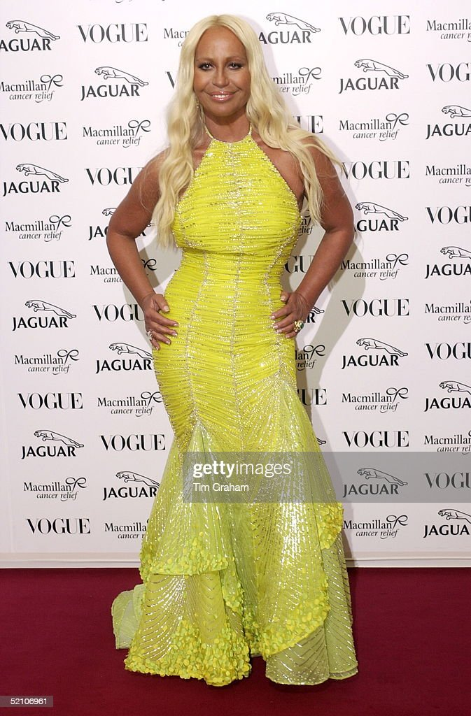 bf7844c28d0 Designer Donatella Versace At A Fashion Show And Gala At Waddesdon ...