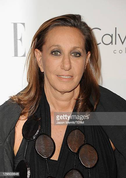 Designer Donna Karan arrives at ELLE's 18th Annual Women in Hollywood Tribute held at the Four Seasons Hotel on October 17, 2011 in Los Angeles,...