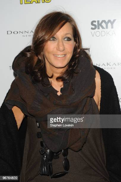 Designer Donna Karan attends a screening of Happy Tears hosted by the Cinema Society and Donna Karan at The Museum of Modern Art on February 16 2010...