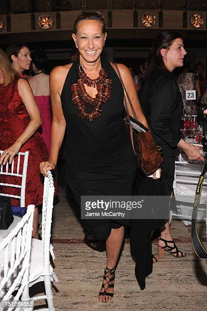Designer Donna Karan attends the 2012 Couture Council for the Museum at FIT Award for Artistry of Fashion to Oscar de la Renta at the David H Koch...
