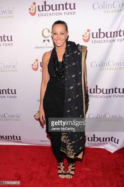 Designer Donna Karan attends the Annual Ubuntu Education Fund NY Gala at Gotham Hall on June 6 2013 in New York City