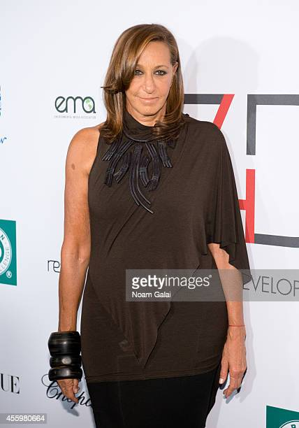 Designer Donna Karan attends the F4D First Ladies Luncheon at The Pierre Hotel on September 23 2014 in New York City