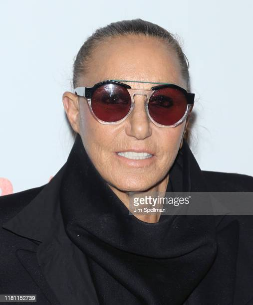 """Designer Donna Karan attends the special screening of """"Frankie"""" hosted by Sony Pictures Classics and The Cinema Society at Metrograph on October 14,..."""