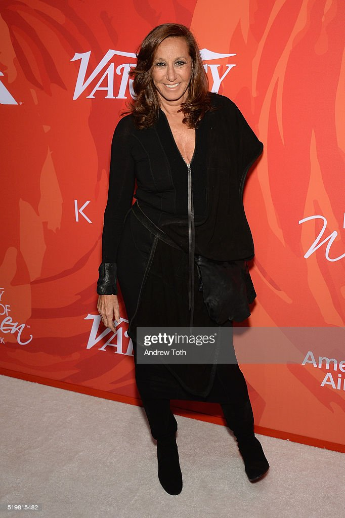 Designer Donna Karan attends Variety's Power Of Women: New York 2016 at Cipriani Midtown on April 8, 2016 in New York City.