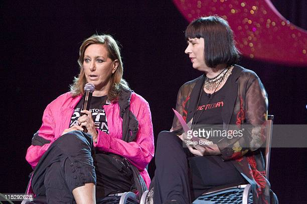 Designer Donna Karan founder and chief designer of the International company that bears her name and founder of the Urban Zen Foundation with...