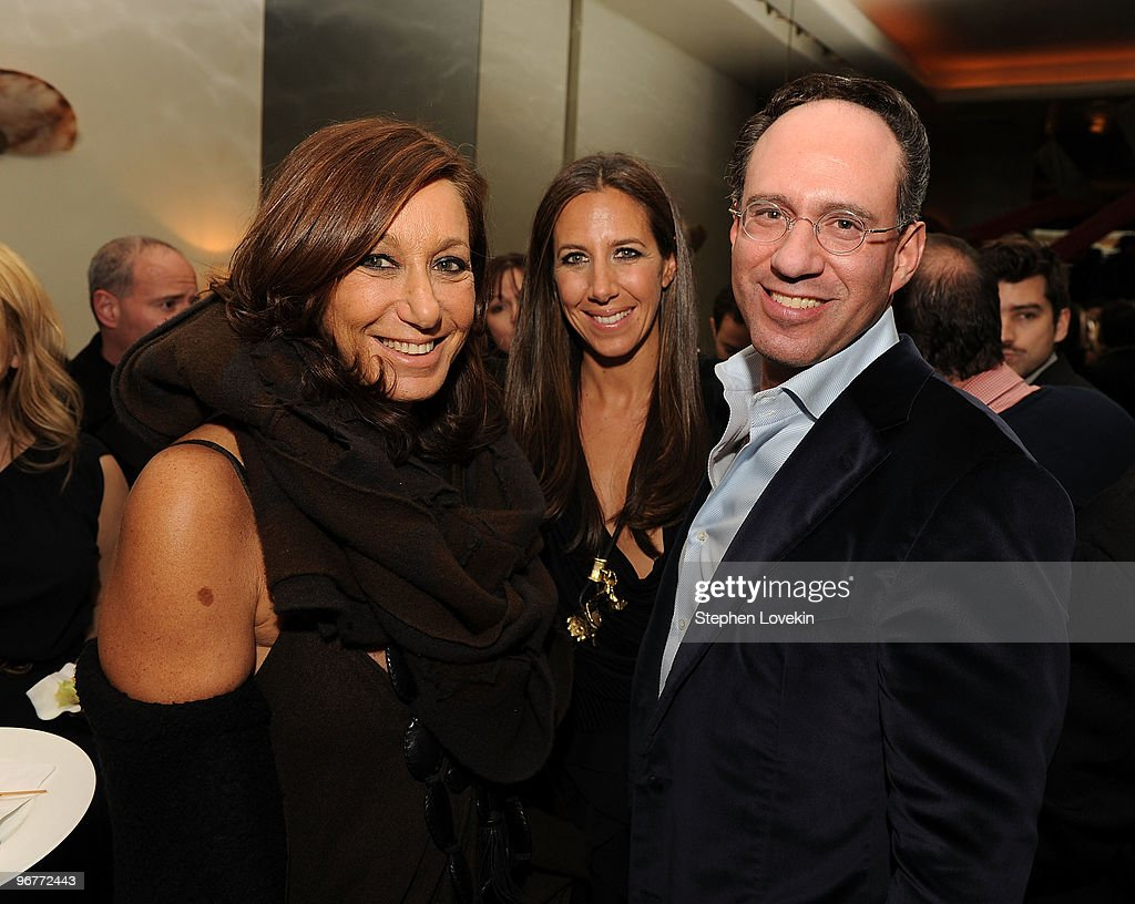 Designer Donna Karan Gabby Karan And Founder Of The Cinema Society News Photo Getty Images