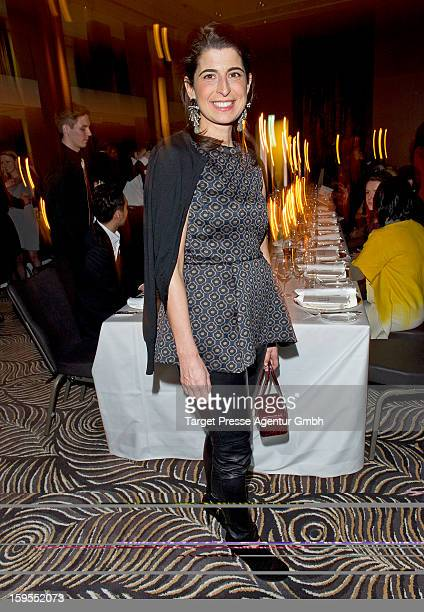 Designer Dorothee Schumacher attends the Elle Soiree Privee during the MercedesBenz Fashion Week at the Waldorf Astoria on January 15 2013 in Berlin...