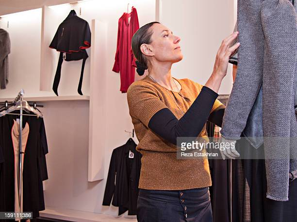 Designer dresses clothes form