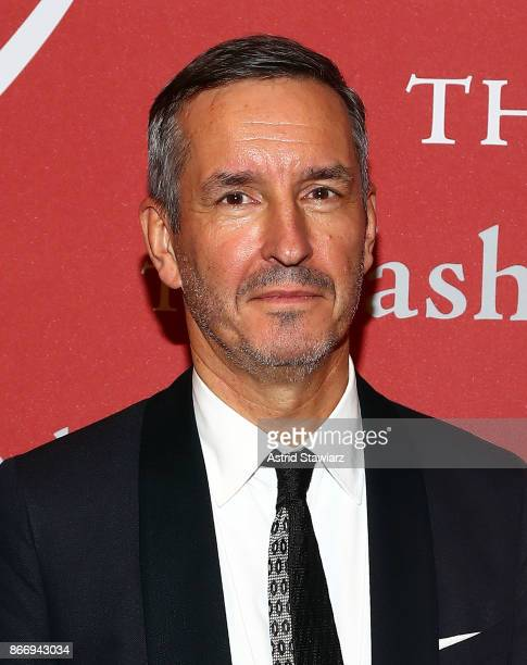 Designer Dries Van Noten attends the 2017 FGI Night Of Stars Modern Voices gala at Cipriani Wall Street on October 26 2017 in New York City