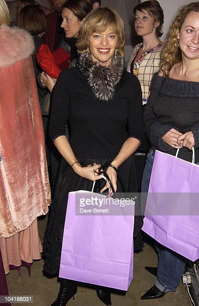 Designer Edina Renay Vogue Vintage Fashion Sale At Zandra Rhodes Studio In Bermondsey London