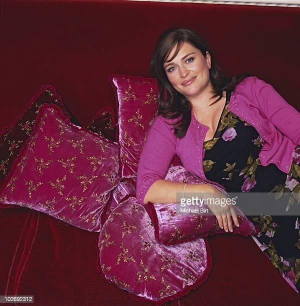 Designer Edina Ronay Jounalist Shebah Ronay pose for a portrait shoot in London UK