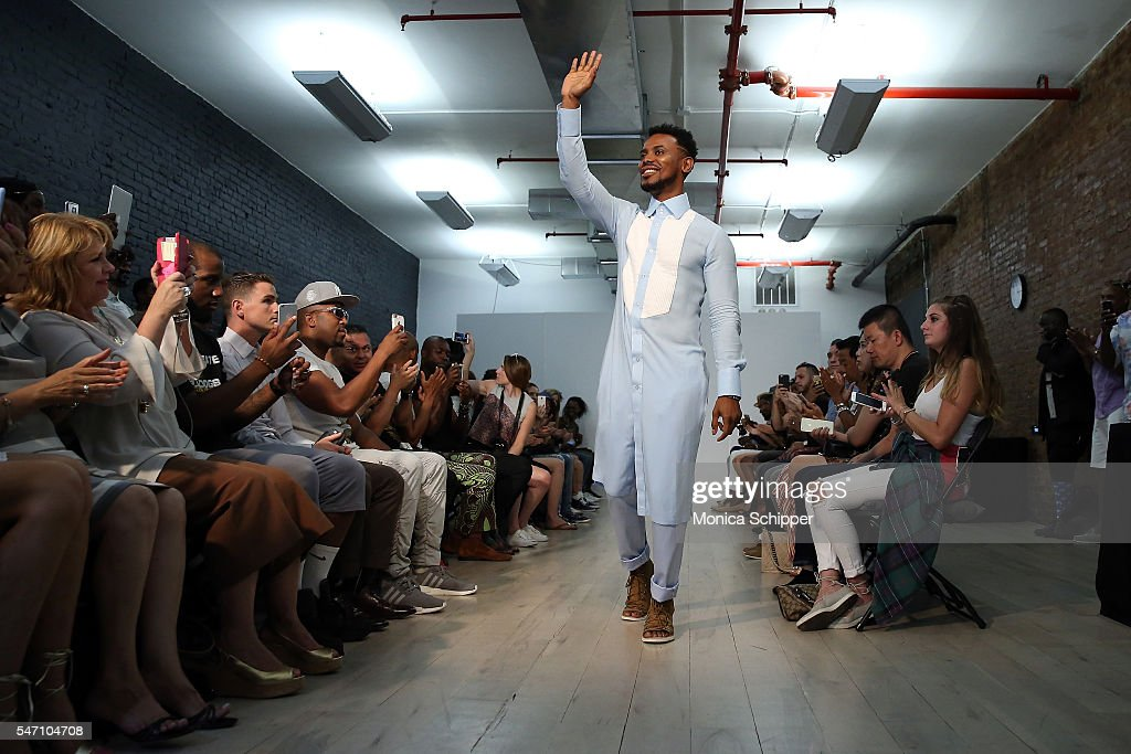 NY: Edwing D'Angelo - Front Row - New York Fashion Week: Men's S/S 2017