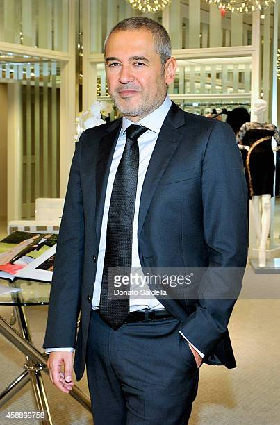 Designer Elie Saab attends Elie Saab Ready To Wear Spring 2015 Presentation Luncheon at Neiman Marcus on November 12 2014 in Beverly Hills California