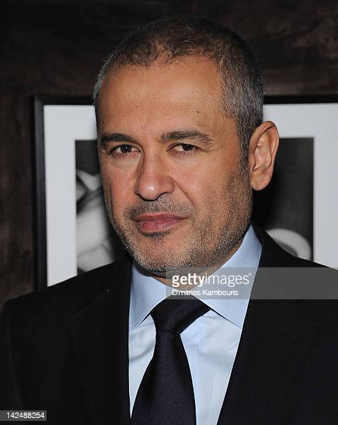 Designer Elie Sab attends the ELIE SAAB private dinner at Crown on April 5 2012 in New York City
