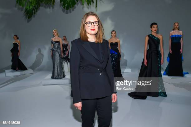Designer Elizabeth Kennedy Attends The Fashion Presentation During New York Week At Pier