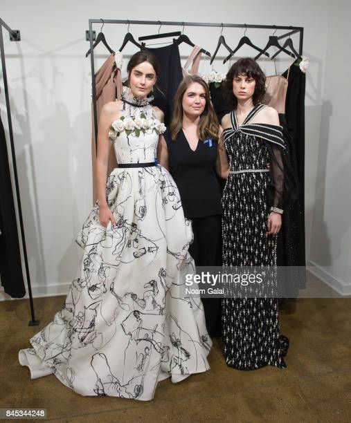 Designer Elizabeth Kennedy Poses For A Photo At The Collection Presentation During New York