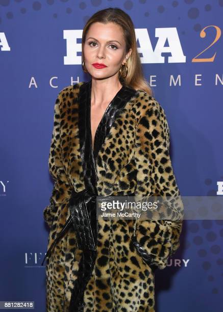 Designer Elizabeth Sulcer attends the 31st FN Achievement Awards at IAC Headquarters on November 28 2017 in New York City