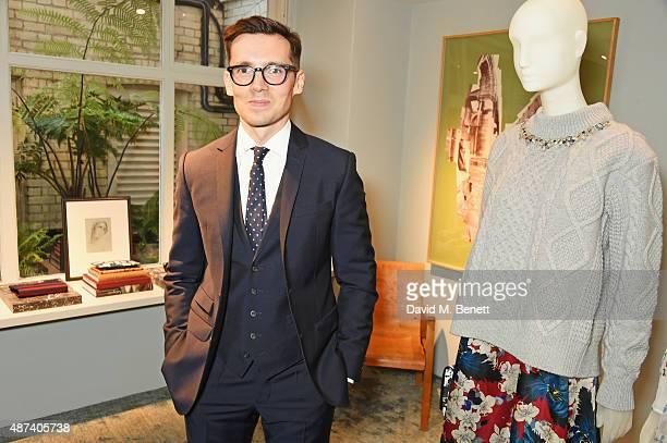 Designer Erdem Moralioglu attends the launch of the first Erdem flagship store on September 9, 2015 in London, England.