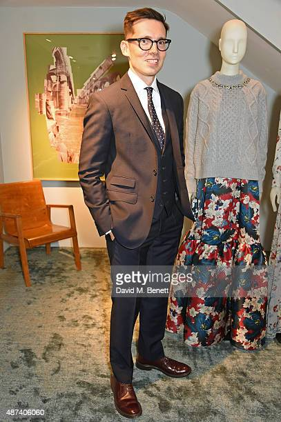 Designer Erdem Moralioglu attends the launch of the first Erdem flagship store on September 9 2015 in London England