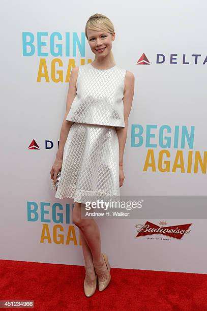 Designer Erin Featherston attends the 'Begin Again' premiere at SVA Theater on June 25 2014 in New York City