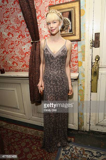 Designer Erin Fetherston attends the Casa Reale Fine Jewelry Launch at The Box on June 17 2015 in New York City