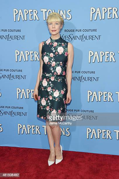 Designer Erin Fetherston attends the New York premiere of Paper Towns at AMC Loews Lincoln Square on July 21 2015 in New York City