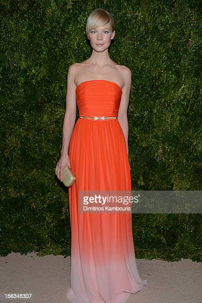 Designer Erin Fetherston attends The Ninth Annual CFDA/Vogue Fashion Fund Awards at 548 West 22nd Street on November 13 2012 in New York City