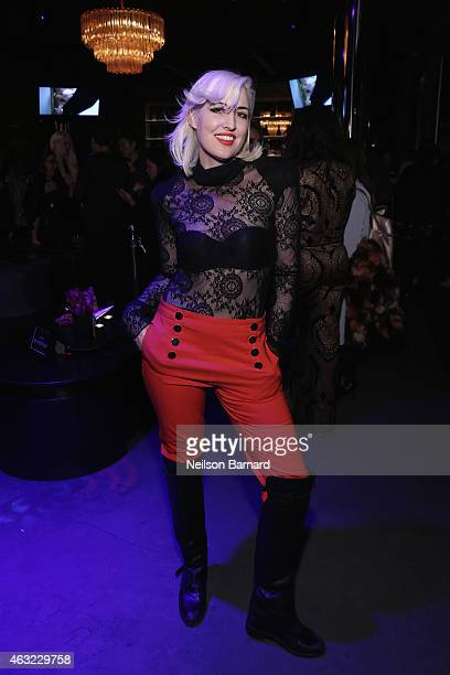"Designer Estel Day attends E!, ""Fashion Police"" and NYLON kick-off New York Fashion Week with a 50 Shades Of Fashion event in celebration of the..."
