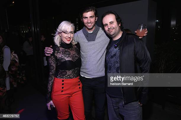 "Designer Estel Day, Swen Temmel and designer Mark Tango attend E!, ""Fashion Police"" and NYLON kick-off New York Fashion Week with a 50 Shades Of..."