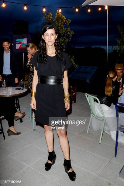 Designer Esther Perbandt attends the Bunte New Faces Award Style on July 5, 2021 in Frankfurt am Main, Germany.