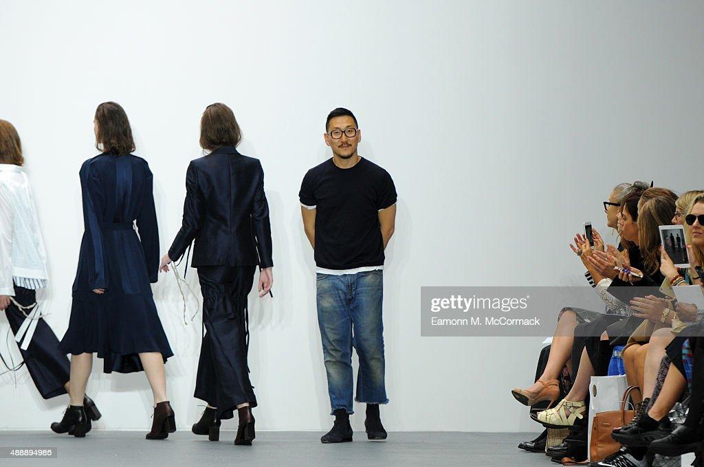 Eudon Choi - Runway - LFW SS16 : Foto jornalística