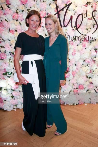 Designer Eva Lutz and Anne Meyer-Minnemann attend the Emotion Award 2019 on June 6, 2019 in Hamburg, Germany.