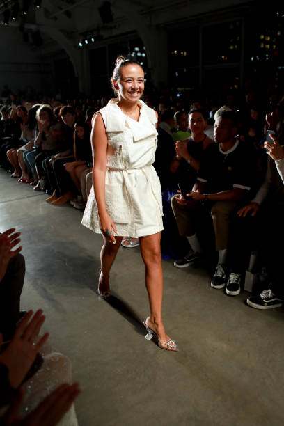 NY: CAAFD Emerging Designer Collective - Front Row - September 2019 - New York Fashion Week: The Shows