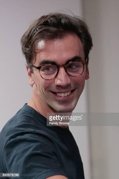 Designer Fernando Garcia after the Oscar de la Renta fashion show September 2017 at New York Fashion Week The Shows on September 11 2017 in New York...
