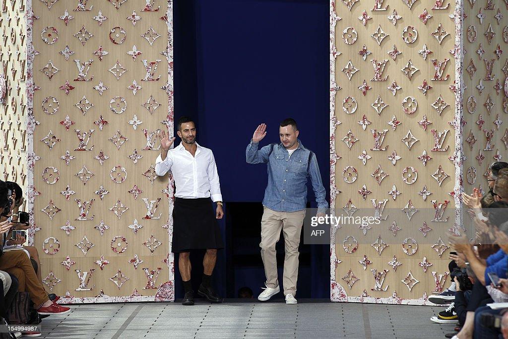 US designer for Louis Vuitton Marc Jacobs and Studio Homme British ... 09068a18d10d
