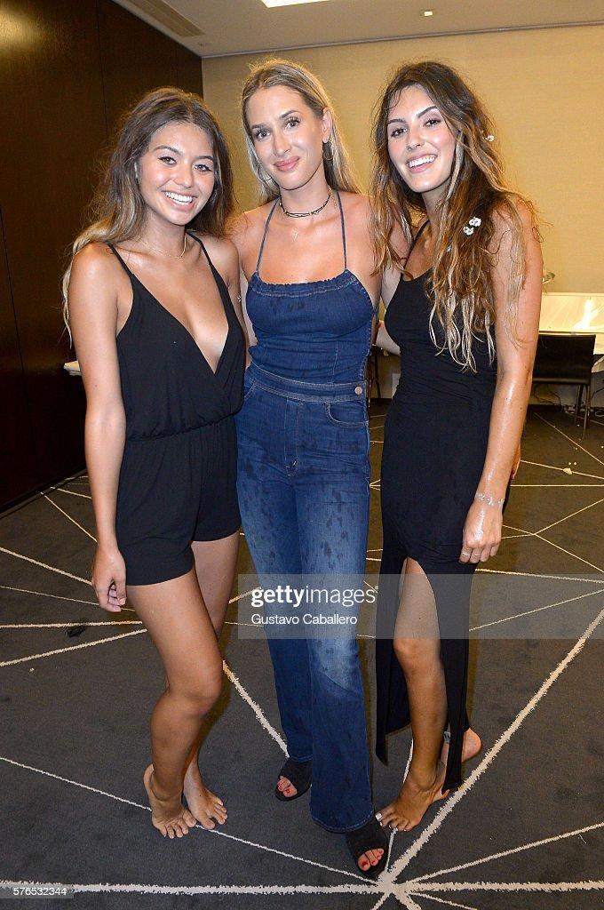 FL: Frankie's Bikinis 2017 Collection at SwimMiami - Backstage