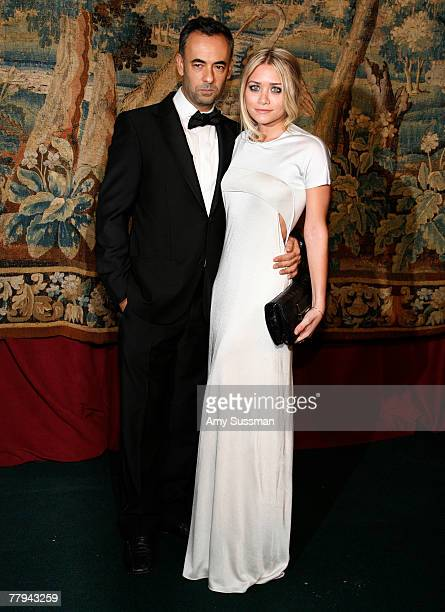 Designer Francisco Costa and actress Ashley Olsen attends the fashion industry's battle against HIV/AIDs at the 7th on Sale gala held at the 69th...