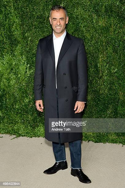 Designer Francisco Costa attends the 12th annual CFDA/Vogue Fashion Fund Awards at Spring Studios on November 2 2015 in New York City