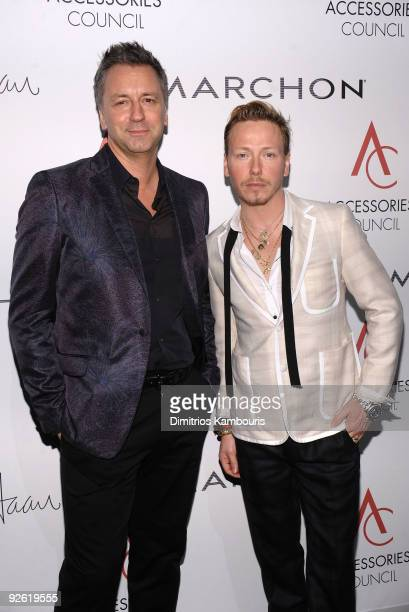 Designer Fred Allard and Eric Daman attend the 13th Annual 2009 ACE Awards presented by the Accessories Council at Cipriani 42nd Street on November 2...