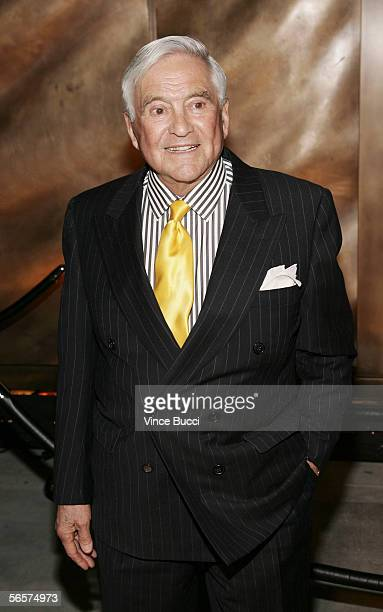 Designer Fred Hayman attends the opening of fine jeweler Harry Winston's flagship store on Rodeo Drive on January 11 2006 in Beverly Hills California