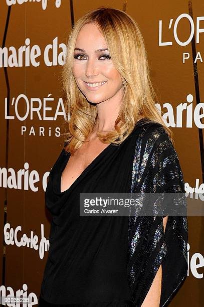 Designer Frida Giannini attends the 2009 Marie Claire Prix de la Moda awards at the French Embassy on November 19 2009 in Madrid Spain