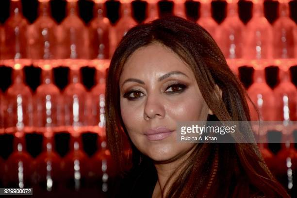 Designer Gauri Khan attends the second edition of Chivas Alchemy attends the Lodhi Hotel on March 9 2018 in New Delhi India