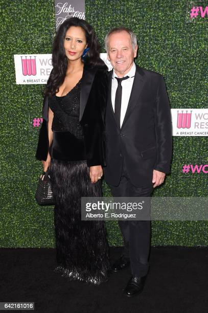 Designer Gelila Puck and chef Wolfgang Puck attend WCRF's An Unforgettable Evening presented by Saks Fifth Avenue at the Beverly Wilshire Four...