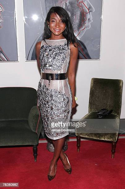 Designer Genevieve Jones attends the Dolce Gabbana's The One Fragrance Launch and Private Dinner at The Grammercy Park Hotel on december 4 2007 in...
