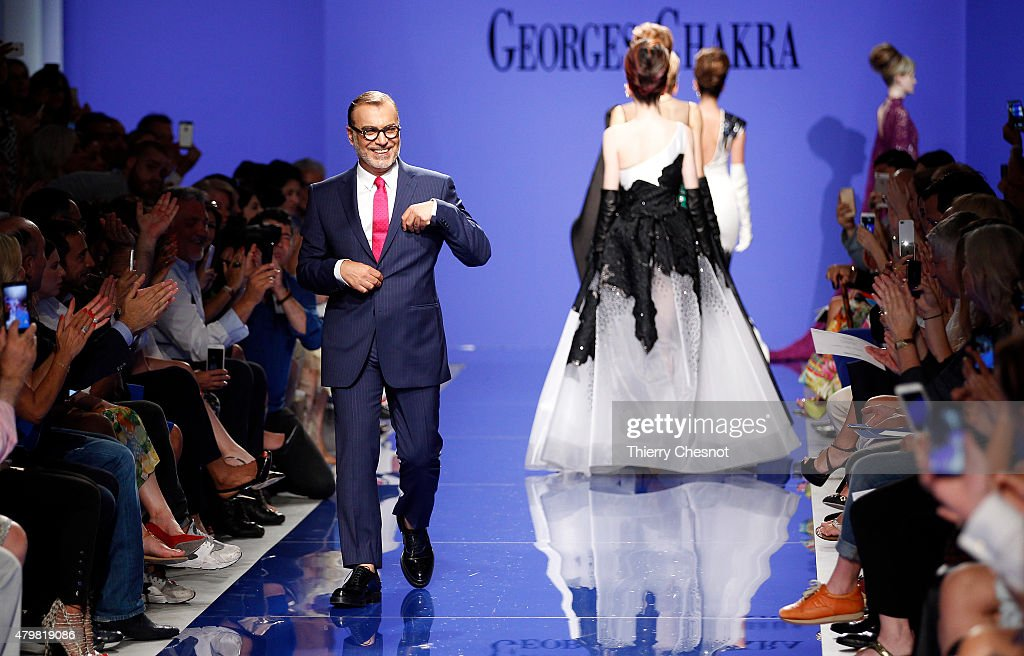 Georges Chakra : Runway - Paris Fashion Week - Haute Couture Fall/Winter 2015/2016 : News Photo