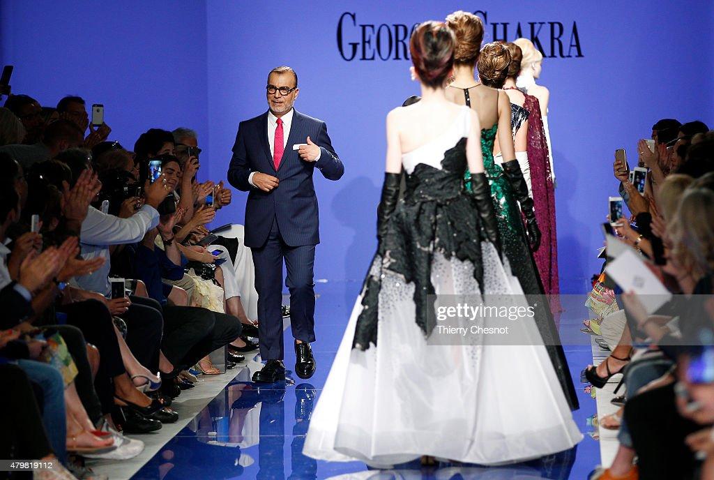 Georges Chakra : Runway - Paris Fashion Week - Haute Couture Fall/Winter 2015/2016 : News Photo