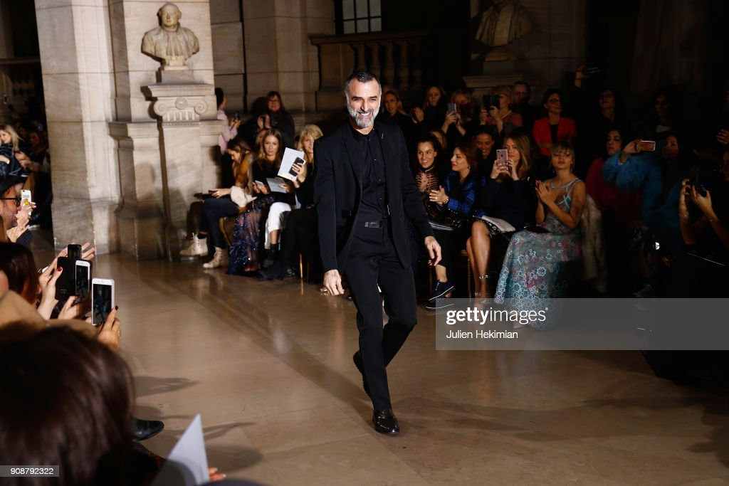 Georges Hobeika : Backstage - Paris Fashion Week - Haute Couture Spring Summer 2018