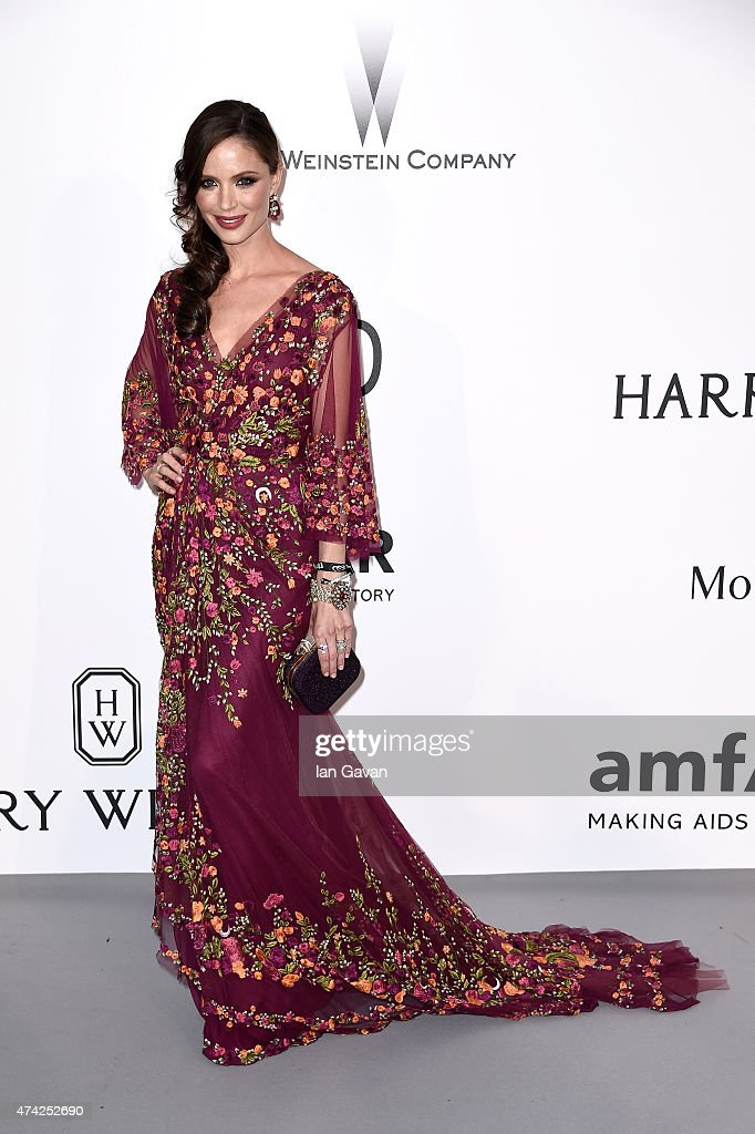 Designer Georgina Chapman attends amfAR's 22nd Cinema Against AIDS Gala, Presented By Bold Films And Harry Winston at Hotel du Cap-Eden-Roc on May 21, 2015 in Cap d'Antibes, France.