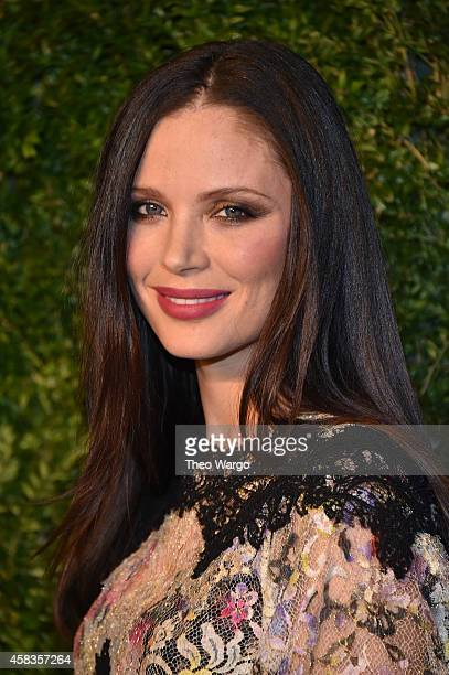 Designer Georgina Chapman attends the 11th annual CFDA/Vogue Fashion Fund Awards at Spring Studios on November 3 2014 in New York City
